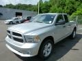 Bright Silver Metallic 2013 Ram 1500 Express Quad Cab 4x4