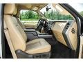 2011 Ford F250 Super Duty Adobe Two Tone Leather Interior Front Seat Photo