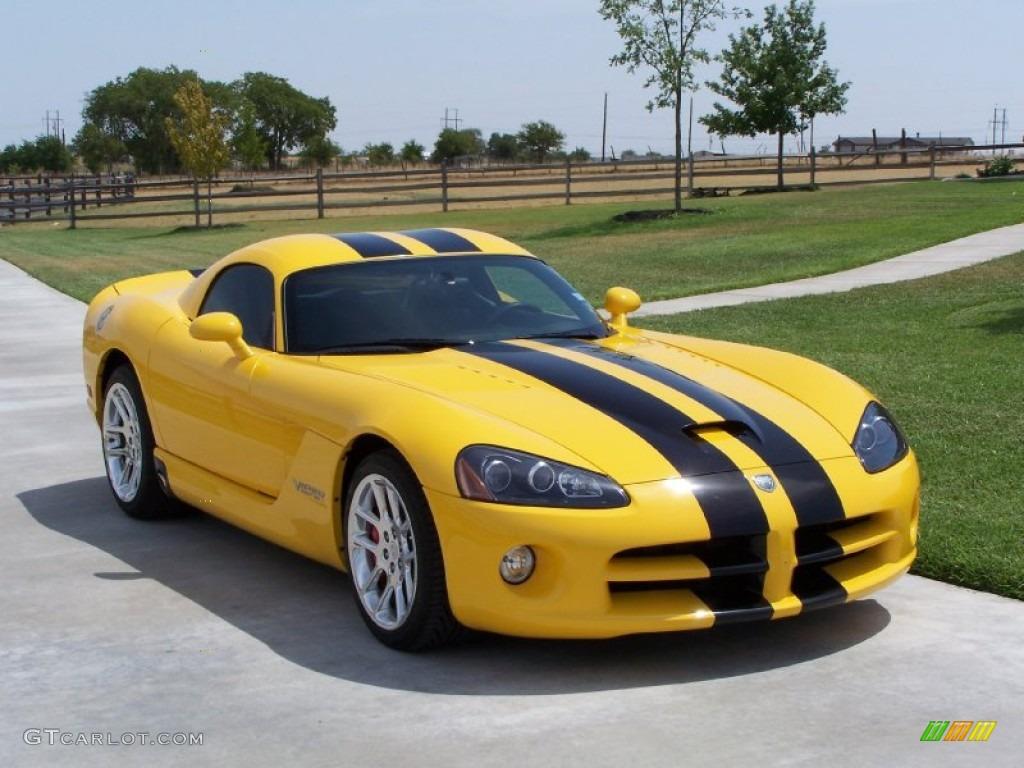 2006 viper race yellow dodge viper srt 10 coupe 83017803 gtcarlot com car color galleries
