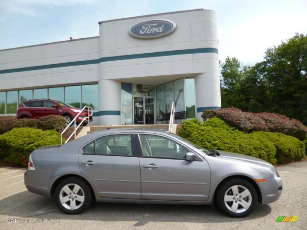 2007 Tungsten Grey Metallic Ford Fusion Se V6 Awd 83017095 Lights Light Stone Photo 1