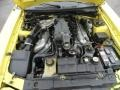 2003 Zinc Yellow Ford Mustang Cobra Coupe  photo #13