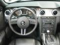 2009 Ford Mustang Black/Black Interior Dashboard Photo