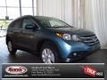 Mountain Air Metallic 2013 Honda CR-V EX-L