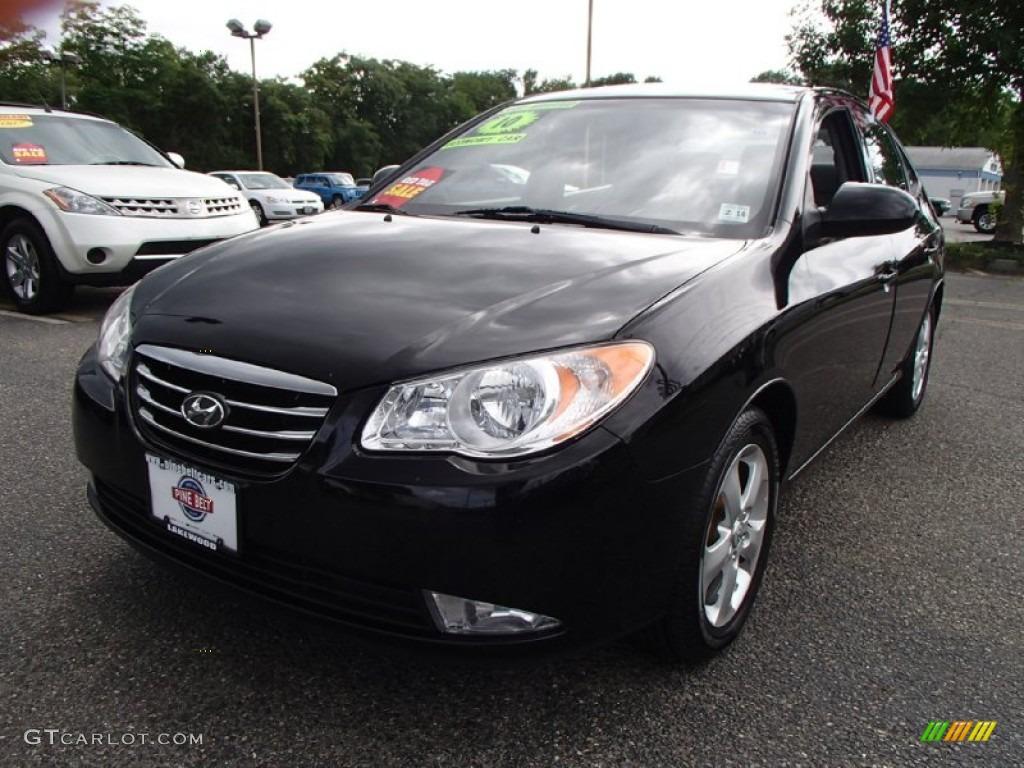 2010 Ebony Black Hyundai Elantra SE #83017052 Photo #9 ...