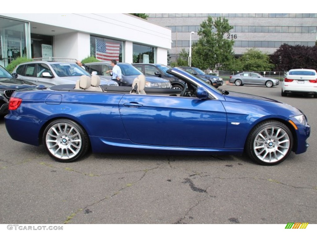 le mans blue metallic 2013 bmw 3 series 328i convertible exterior photo 83073012. Black Bedroom Furniture Sets. Home Design Ideas
