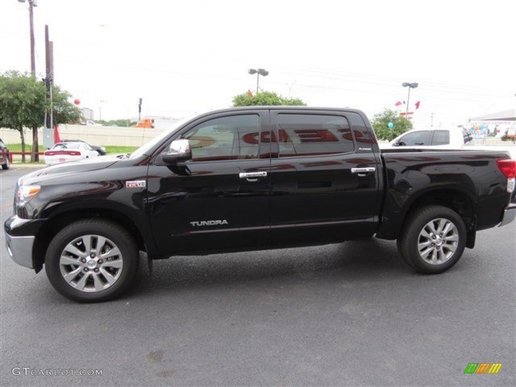 Black 2012 Toyota Tundra Limited Crewmax Exterior Photo