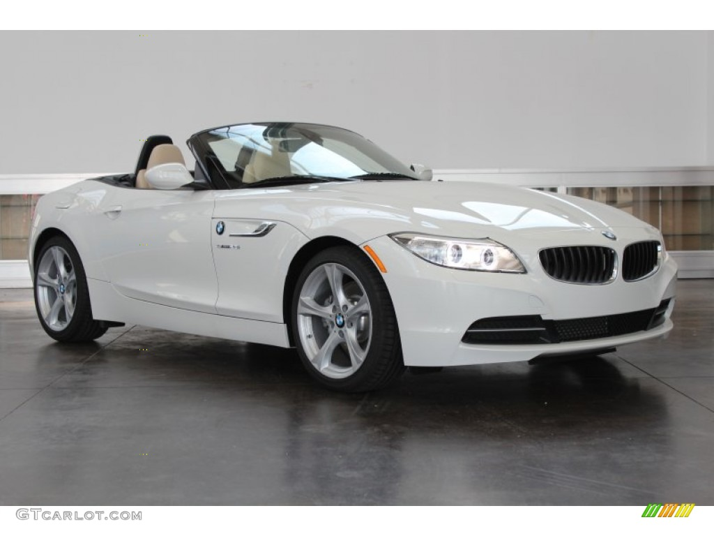 Bmw Z4 2014 White Alpine White 2014 Bmw Z4 Sdrive28i