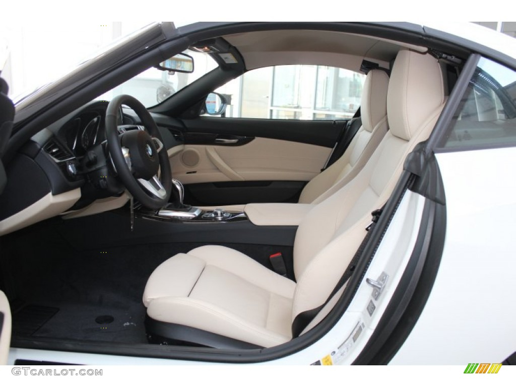 Canberra Beige Interior 2014 Bmw Z4 Sdrive28i Photo