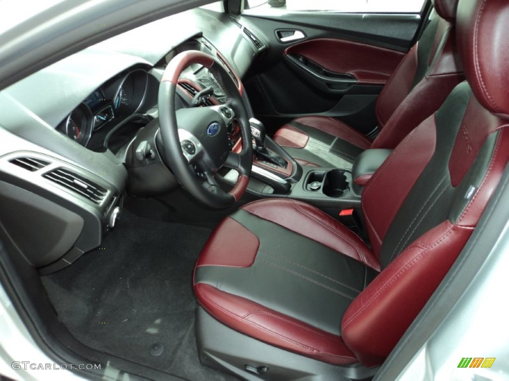 tuscany red interior 2013 ford focus se sedan photo 83096084. Black Bedroom Furniture Sets. Home Design Ideas