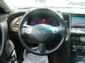 2010 Infiniti FX Chestnut Interior Steering Wheel Photo