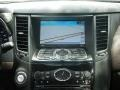 2010 Infiniti FX Chestnut Interior Navigation Photo