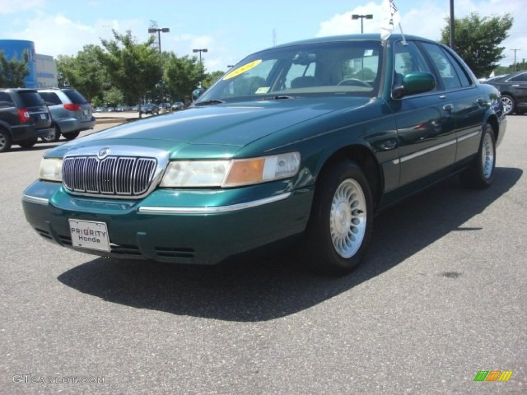 2001 tropic green metallic mercury grand marquis ls 83103071 gtcarlot com car color galleries gtcarlot com