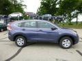 2013 Twilight Blue Metallic Honda CR-V LX AWD  photo #2