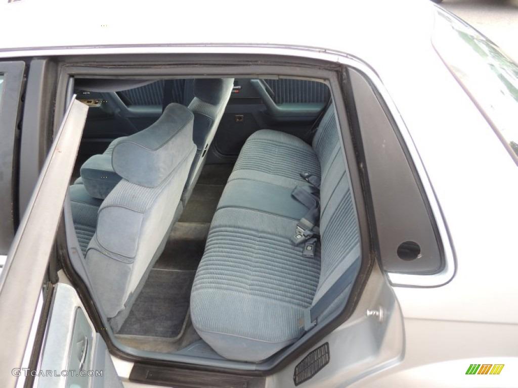 1994 Buick Century Special Sedan Interior Color Photos