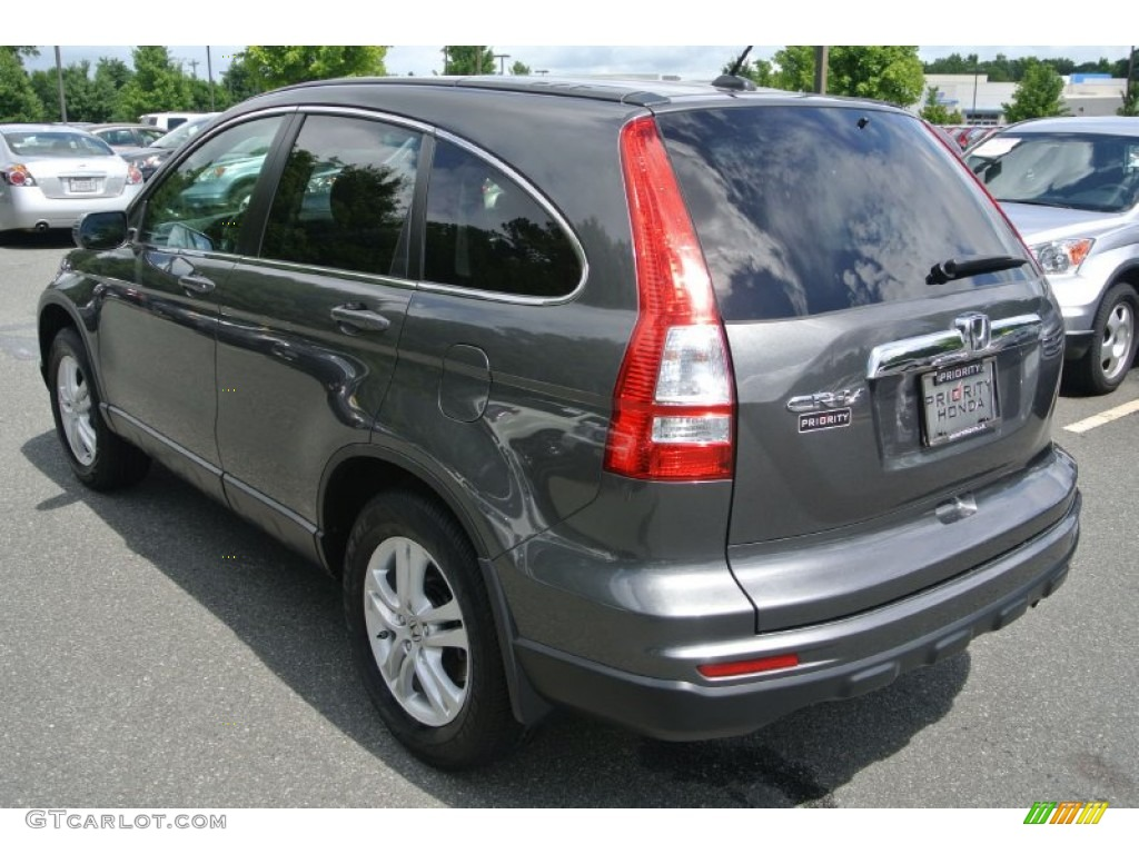 2011 CR-V EX-L - Polished Metal Metallic / Black photo #4