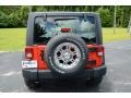 2012 Flame Red Jeep Wrangler Sport 4x4  photo #6