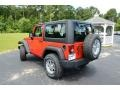 2012 Flame Red Jeep Wrangler Sport 4x4  photo #7