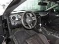 2013 Ford Mustang Shelby Charcoal Black/Black Accent Recaro Sport Seats Interior Prime Interior Photo