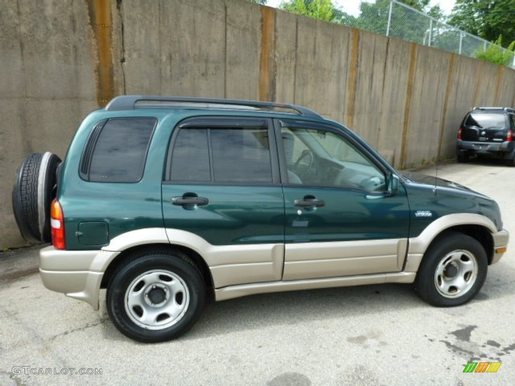 Grove Green Metallic 2002 Suzuki Grand Vitara JLX 4x4 Exterior Photo  #83160862