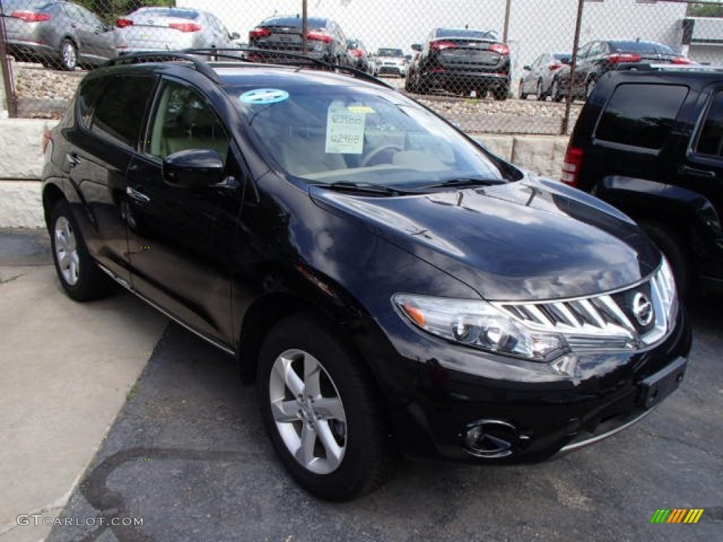 2007 Murano S AWD - Super Black / Charcoal photo #1