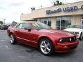2006 Redfire Metallic Ford Mustang GT Premium Convertible  photo #2