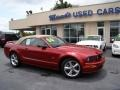 2006 Redfire Metallic Ford Mustang GT Premium Convertible  photo #20