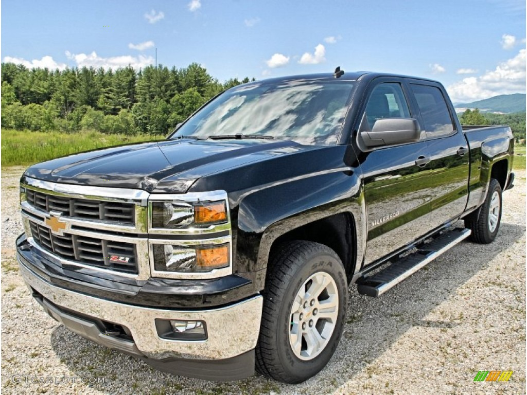 black 2014 chevrolet silverado 1500 lt z71 crew cab 4x4 exterior photo 83174812. Black Bedroom Furniture Sets. Home Design Ideas