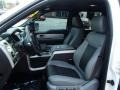 Black/Silver Smoke 2011 Ford F150 Interiors