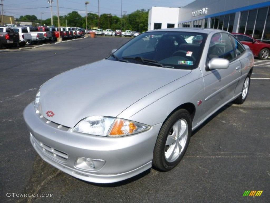 Ultra Silver Metallic 2002 Chevrolet Cavalier Z24 Coupe ...