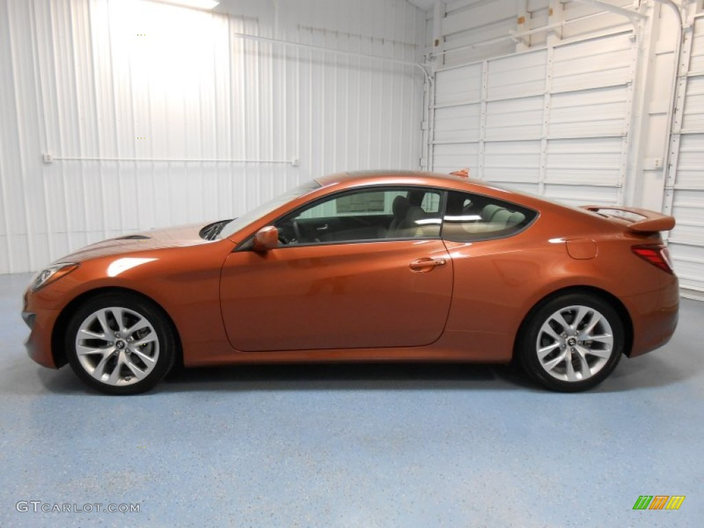 2013 Catalunya Copper Hyundai Genesis Coupe 2 0t Premium 83169758 Car Color