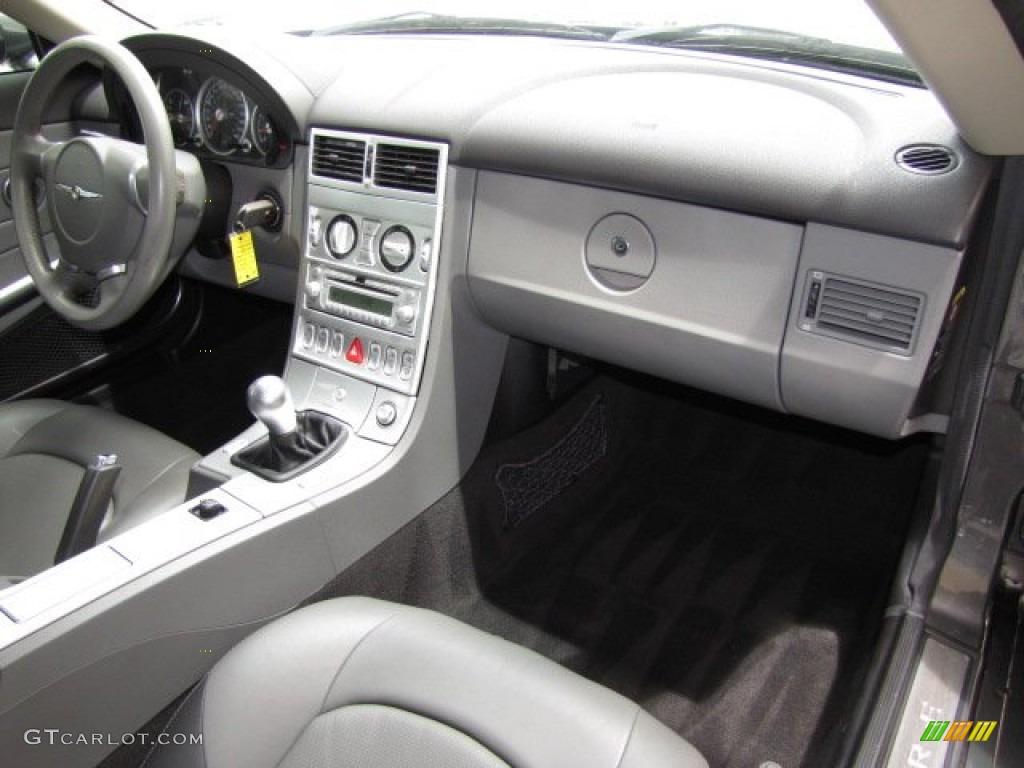 2004 chrysler crossfire limited coupe dark slate gray - 2004 chrysler crossfire interior ...