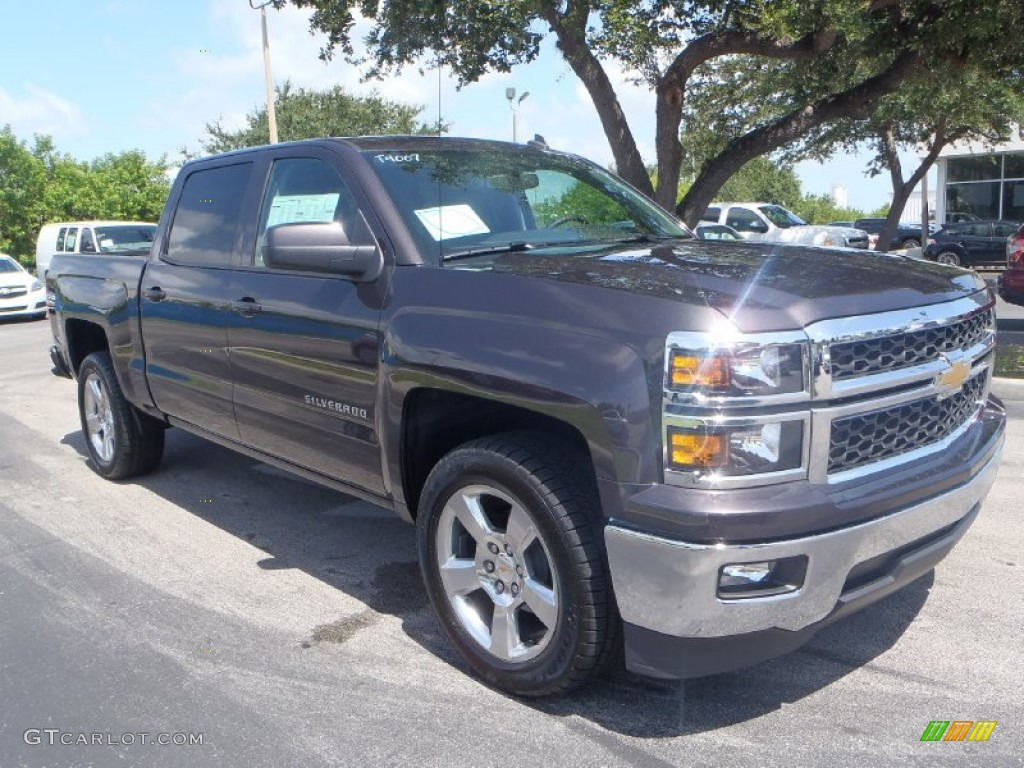 2014 Tungsten Metallic Chevrolet Silverado 1500 Lt Crew Cab 83206564 Car Color