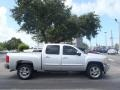 2013 Silver Ice Metallic Chevrolet Silverado 1500 LT Crew Cab  photo #2