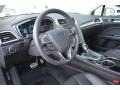Charcoal Black Steering Wheel Photo for 2013 Ford Fusion #83217963