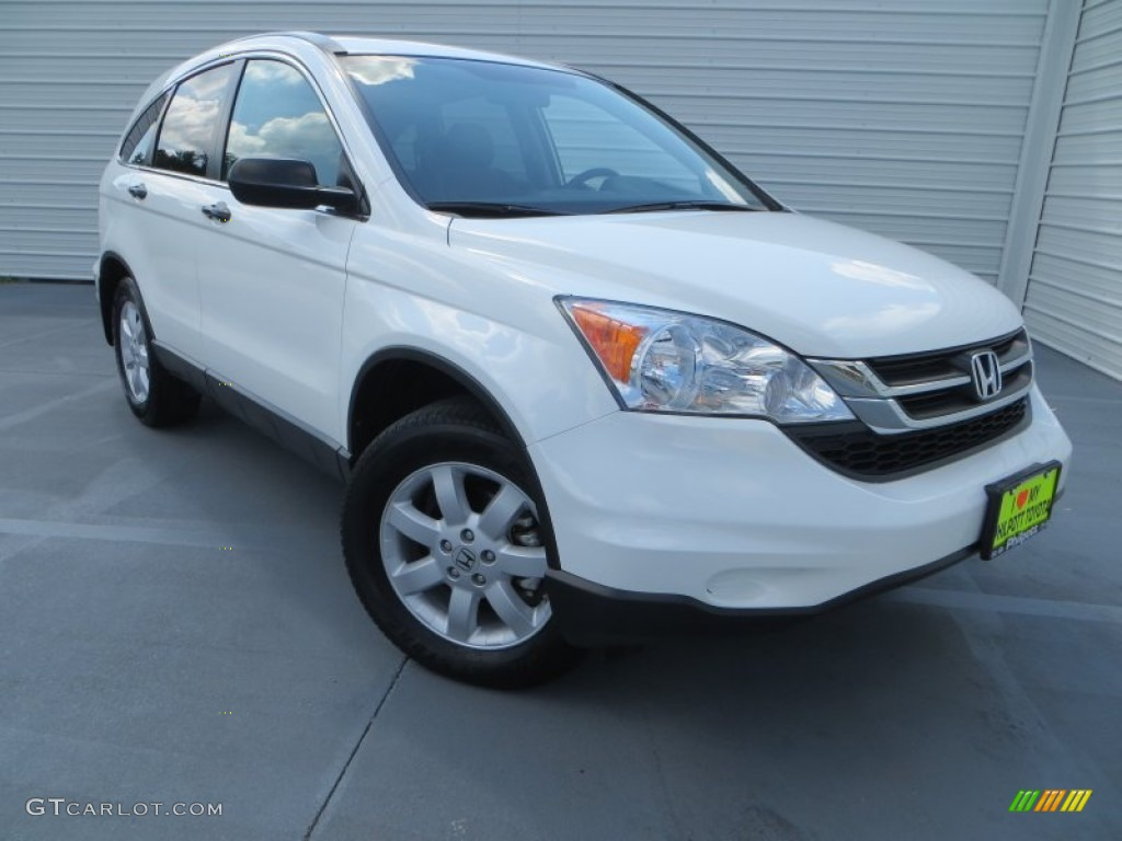 2011 CR-V SE - Taffeta White / Gray photo #1