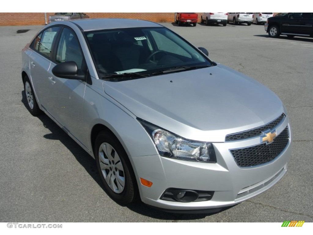 2013 Silver Ice Metallic Chevrolet Cruze Ls 83206430 Car Color Galleries