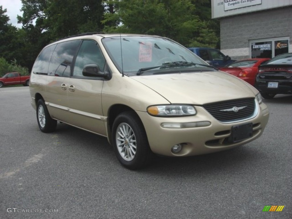 champagne pearl 2000 chrysler town country lx exterior photo 83223905. Black Bedroom Furniture Sets. Home Design Ideas