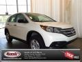 2013 White Diamond Pearl Honda CR-V LX  photo #1