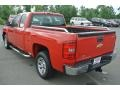 2009 Victory Red Chevrolet Silverado 1500 Extended Cab  photo #4