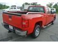 2009 Victory Red Chevrolet Silverado 1500 Extended Cab  photo #5