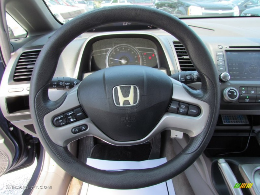 2006 Honda Civic Ex Sedan Gray Steering Wheel Photo 83234405