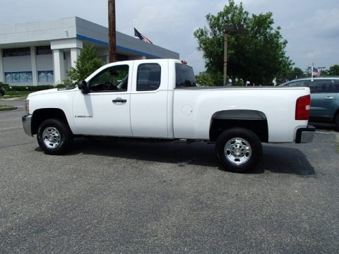 2009 chevrolet silverado 2500hd work truck extended cab. Black Bedroom Furniture Sets. Home Design Ideas
