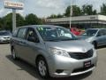 2012 Silver Sky Metallic Toyota Sienna V6  photo #1