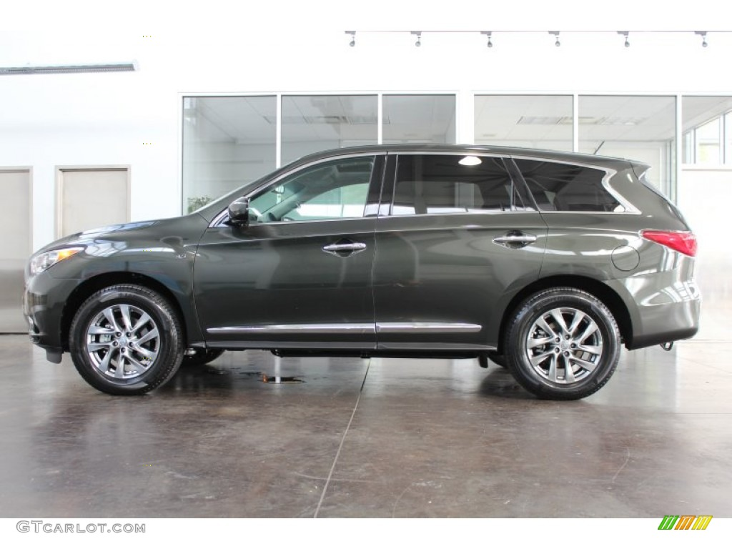 2014 Emerald Graphite Infiniti Qx60 3 5 Awd 83206250 Photo 6 Car Color Galleries