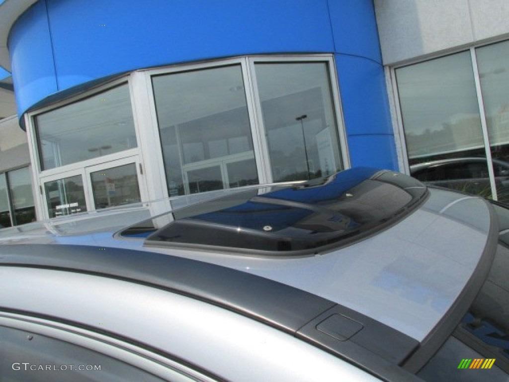 2011 CR-V EX 4WD - Polished Metal Metallic / Black photo #3