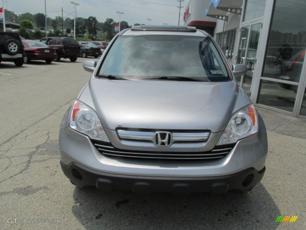 2011 CR-V EX 4WD - Polished Metal Metallic / Black photo #4