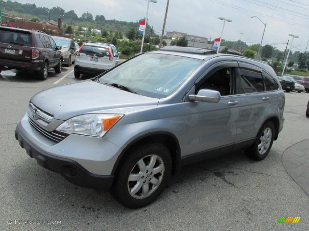 2011 CR-V EX 4WD - Polished Metal Metallic / Black photo #5