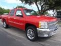 2013 Victory Red Chevrolet Silverado 1500 LT Crew Cab  photo #1