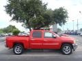 2013 Victory Red Chevrolet Silverado 1500 LT Crew Cab  photo #2