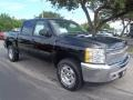 2013 Black Chevrolet Silverado 1500 LT Crew Cab 4x4  photo #1
